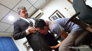 Fuck Me Harder Boss at Daddy's Asians