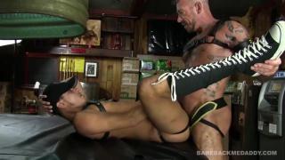Cesar Xes and ray dalton at bareback me daddy
