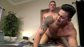 Brett Bradley and Hunter Vance at Men Over 30