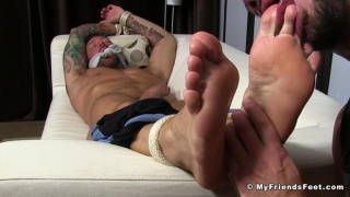 hugh hunter and dolf dietrich at my friends' feet