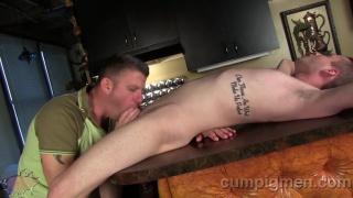 Christian Matthews and Skylar Starr at CumPigMen