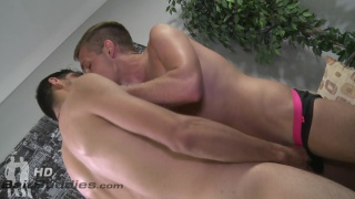 Tony Douglas and Conner Mason at bait buddies