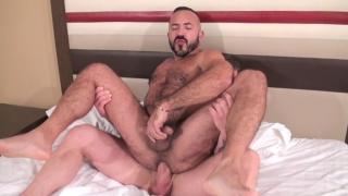 Rocco Steele and Alessio Romero at bareback that hole