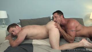 Lucas Knight and Nick Capra at Dylan Lucas