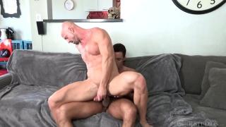 Mitch Vaughn and Nick Capra at Dylan Lucas