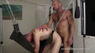 chad brock and Quincy Kelly at Bareback Me Daddy
