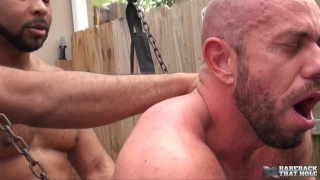 Ray Diesel and Matt Stevens at bareback that hole