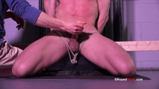 bryan cole gets edged at roped studs