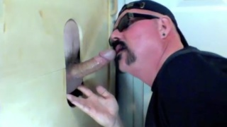 Curious Married Guy at Gloryhole Hookups