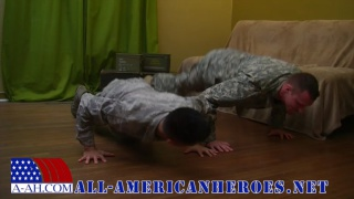 SERGEANT RANDY AND AIRMAN PAOLO at all american heroes