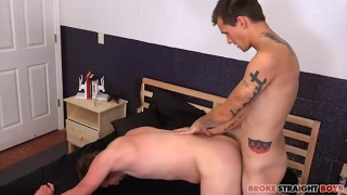 Dustin Powers and Kayden Winters at Broke Straight Boys