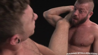 Hunter Marx and Alexander Greene at Raging Stallion