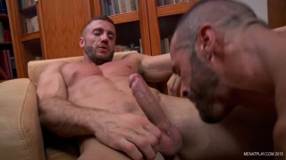 DENIS VEGA and EMIR BOSCATTO at men at play