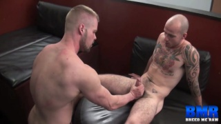 Bryan Knight and Cam Christou at breed me raw