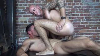 Cam Christou and Adam Avery at raw fuck club
