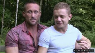 Myles Landon and Ian Levine at Icon Male