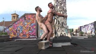 Wolf Hudson and Chris Harder at Bound Gods