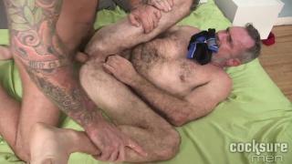 Drew Sebastian Barebacks Peter Rough at cocksure men