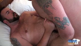 Aiden Storm and Kyle Scott at bear films