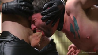 Christian Wilde and Jackson Fillmore at Bound Gods