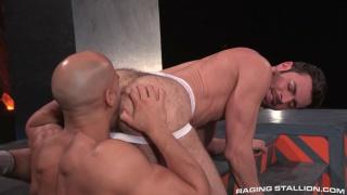Dario Beck and Sean Zevran at Raging Stallion