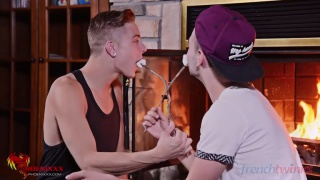 Camille Kenzo and Zac Hunter at french twinks