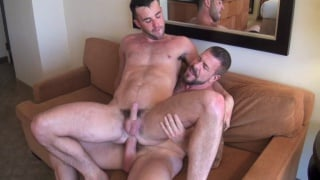 Rocco Steele and Alex Mason at bareback that hole