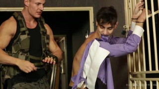 Sweet Prisoner Episode 01 at gay war games