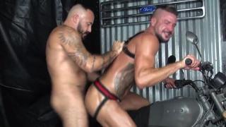 Dolf Dietrich & Alessio Romero at Raw Fuck club