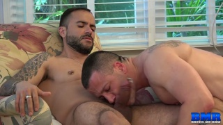 Gabriel Fisk and Russ Magnus at breed me raw