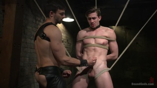Jason Maddox and Jack Hunter at Bound Gods