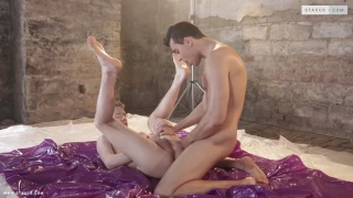 Joel Vargas and Milan Sharp at staxus