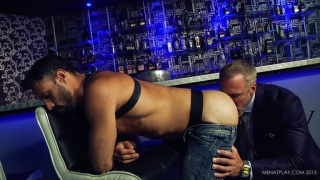 flex and DALLAS STEELE at men at play