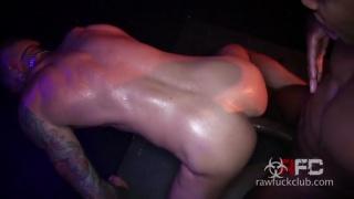 Champ Robinson and Dolf Dietrich at Raw Fuck Club