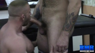 Luke Harrington and Shay Michaels at breed me raw