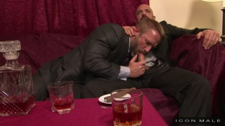 Adam Russo and Dirk Caber at Icon Male