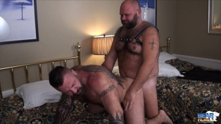 Marc Angelo and Will Foster at bear films