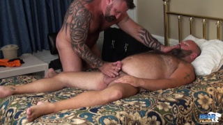 Will Foster and Marc Angelo at bear films