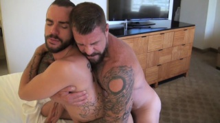 Rocco Steele and Lukas Cipriani at bareback that hole