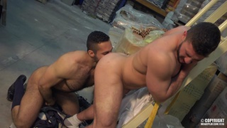 ADAM CHAMP & MARCO RUBI at men at play