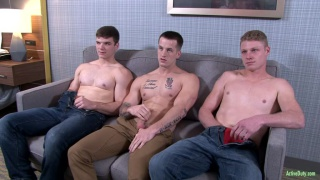 Quentin Gainz, Ivan James & Levi at Active duty