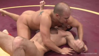 Eli Hunter and Lance Hart at Naked Kombat