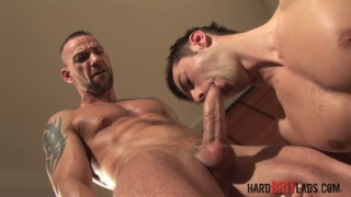 Darren Robbins and Justin Harris at hard brit lads