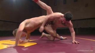Chris Burke and Jackson Fillmore at Naked Kombat