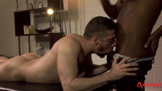 JP Richards and scott hunter at alpha males