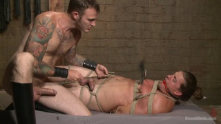 Kip Johnson and Christian Wilde at Bound Gods