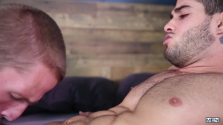 Diego Sans and Landon Mycles at Drill my hole
