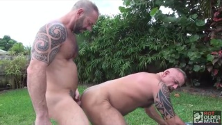 Jon Galt and Vic Rocco at Hot Older Male