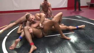 Dirk Caber, Billy Santoro, Hugh Hunter and Troy Sparks at Naked Kombat