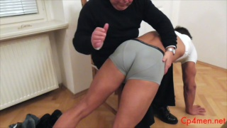 Ennio Guardi Gets Spanked at cp4 men